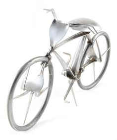 Take a look at this Flatware Bicycle by Forked Up Art on #zulily today!