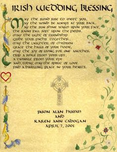 wedding irish wedding blessed irish wedding blessing irish wedding