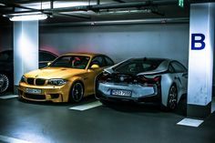 BMW 1 series Coupe 140i V8 and BMW i8