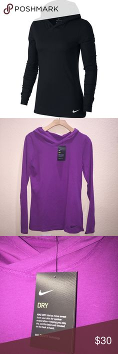 TODAYS DEAL. Nike purple pullover Brand new Color: purple  Has a hood  PRICE IS FIRM NO OFFERS ACCEPTED. Nike Tops