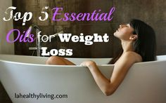 Top 5 Essential Oils for Weight Loss  Wouldn't need to be a specific brand, but interesting to try.