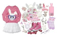 """""""love bun"""" by orbangel ❤ liked on Polyvore featuring Dorothy Perkins, Forever New, cutekawaii, Tony Moly, Etude House, Hello Kitty, claire's, Tory Burch, Sweet & Co. and Miss Selfridge"""