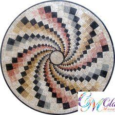 MD050 Marble Mosaic Medallion