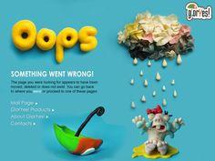 404 Page Design on Behance Logo Fails, Web Design School, 404 Pages, Error Page, Poster Design Inspiration, Graphic Design Projects, Design Ideas, Page Design, Packaging Design