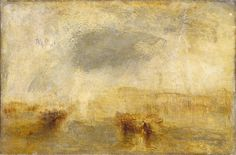 Joseph Mallord William Turner 'Venice - Noon', exhibited 1845