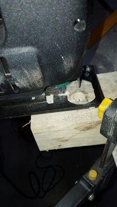 Making of wine holder step 4 - Cutting