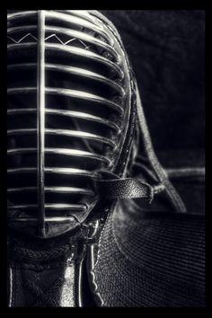steel kendo mask.