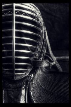 steel kendo mask.