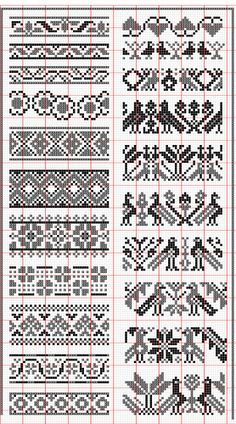 Elegant fair isle knitting patterns no floss numbers, but will be fun to mix and match colors. HUNSCMH - Crochet and Knit , Elegant fair isle knitting patterns no floss numbers, but will be . Fair Isle Knitting Patterns, Fair Isle Pattern, Knitting Charts, Loom Patterns, Knitting Designs, Knitting Stitches, Crochet Patterns, Knitting Ideas, Free Knitting