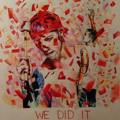 We did it Clique Art |-/ Josh Dun