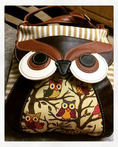 My new owl purse