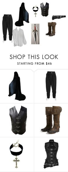 """""""Alphonse daily wear"""" by n0-0ne ❤ liked on Polyvore featuring Temperley London, Jeffrey Campbell, Child Of Wild, men's fashion and menswear"""
