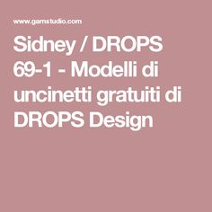 Sidney / DROPS 69-1 - Modelli di uncinetti gratuiti di DROPS Design