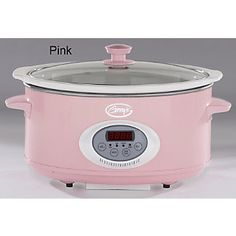 Pink slow cooker I want this sitting next to my pink Kitchen Aid mixer Kitchen Items, Kitchen Gadgets, New Kitchen, Kitchen Decor, Kitchen Tools, Kitchen Stuff, Kitchen Utensils, Pink Kitchen Appliances, Compact Kitchen