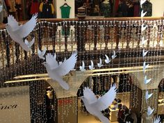 A rather beautiful piece of art currently installed at Jenners department store, Edinburgh