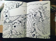 Animals~#illustration #sketchbook#camberwell #hornimanmuseum #animals Cool Artwork, Horns, Museum, Illustration, Instagram Posts, Animals, Inspiration, Biblical Inspiration, Horn