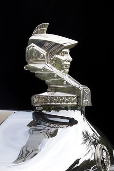 ..._1930 Minerva 3 Position Drop Head Coupe hood ornament