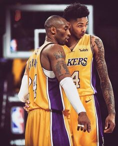 Ingram and Kobe Basketball Pictures, Sports Basketball, Sports Art, Basketball Players, Lakers Wallpaper, Nba, Kobe Bryant Pictures, Kobe Bryant Family, Kobe Bryant Black Mamba