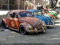 Volkswagen Fusca 1500 Marrom, Volkswagen Fusca 1200 Azul, Volkswagen Fusca 1200 Verde, Volkswagen Fusca 1500 Laranja