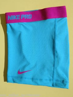 New Turquoise Fuchsia Nike Pro Combat Women's Dri Fit Compression Shorts Nike Outfits, Womens Workout Outfits, Sport Outfits, Gym Shorts Womens, Cheer Outfits, Boy Shorts, Nike Shorts, Cheap Athletic Wear, Cute Athletic Outfits