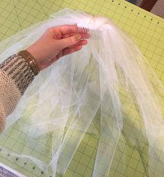 DIY: Veil for bachelorette