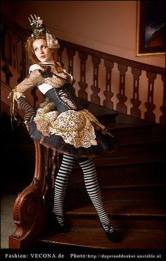 Gothic Victorian Steampunk Alice In Wonderland