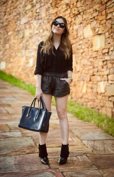 #outfit #look #shorts #blogger #Lu-ferreira