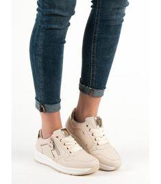 Béžové športové topánky Converse, Wedges, Sneakers, Shoes, Fashion, Trainers, Moda, Zapatos, Shoes Outlet