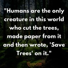 #FridayMotivation #SaveTrees Save Environment, Friday Motivation
