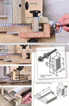 Router Fence Micro Adjuster - Router Tips, Jigs and Fixtures | WoodArchivist.com by jewell