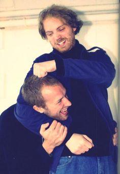 Chris and Jonny!