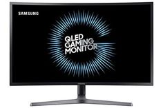 Samsung is a curved monitor series with a HDR support. It has a curvature to bring a better gaming experience. But, it is not the only thing this monitor wants to offer. Blue Black Color, Dark Blue Grey, Best Gaming Laptop, Gaming Computer, Gaming Setup, Monitor, Best Pc Games, All In One Pc, Desktop