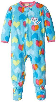 Komar Kids Little Girls  Heart Fleece Blanket Sleeper  gt  gt  gt  You 44eeea0b3