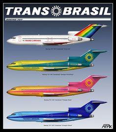 Boeing B-727 Transbrasil