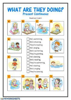 English Activities For Kids, English Grammar For Kids, Learning English For Kids, Teaching English Grammar, English Worksheets For Kids, English Lessons For Kids, Kids English, Learn English Words, English Vocabulary