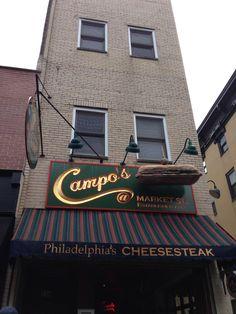 Campo's CheeseSteaks Cheesesteak, Philadelphia, Broadway Shows, Places, Lugares, Philadelphia Flyers