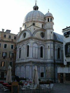 Venezia, chiesa di Santa Maria dei Miracoli, progettata da Pietro Lombardo, 1481-89. Dottrina dell'Architettura Architetto David Napolitano