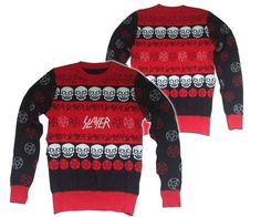 Slayer's heavy metal Christmas sweater - Boing Boing