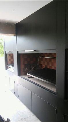 Tapa asador Outdoor Entertaining, Outdoor Cooking, Parrilla Interior, Piscina Interior, Psp, Tapas, Outdoor Living, New Homes, Kitchen Appliances