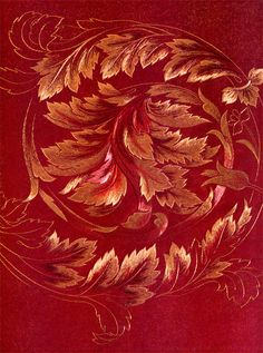 Gold work embroidery | Japanese Embroidery Guild: Goldwork leaves