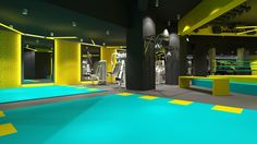 FITBOX  l  GYM by CUBE Architects, via Behance