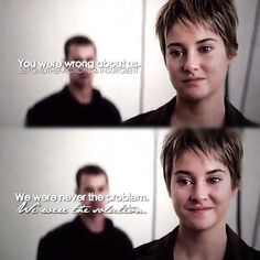 Love this scene probably because Four has Tris all to himself!