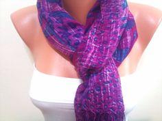 Purple Scarf TrendyScarf by TrendyScarf on Etsy, $9.99