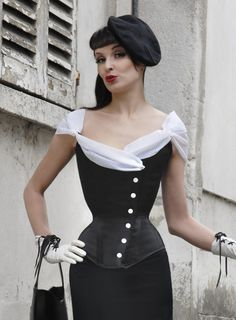 5 Chic Tailored-Style Corsets for Your Inner Dandy | The Lingerie Addict: Lingerie for Who You Are