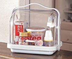 Carrying case for kitchen table items by Inomata.  Japan.