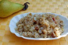 Süßreis mit Birne und Datteln nach 5 Elemente Ernährung