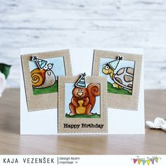 It's time for another card of mine on @janesdoodles blog 😁 Today I decided to make a card with adorable critters 😁  #cardmaking #card #janesdoodlesstamps #janesdoodles #handmadecard #handmade #homemadecard #homemade #stamps #stamping #papercrafts #papercraft #craft #crafting #color #coloring #watercolor #watercoloring