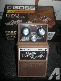 BOSS FRV-1 '63 Fender Reverb Guitar Pedal