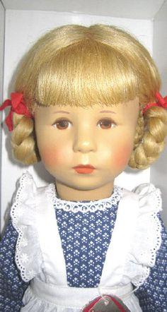 Rarität Käthe Kruse Puppe Mimerle 47cm April 1985 OVP unbespielt neu sehr selten