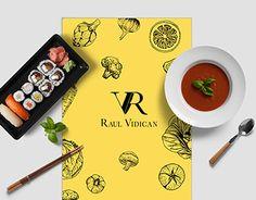 Raul Vidican - Chef Logo